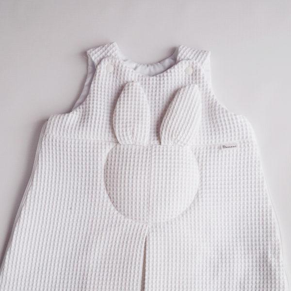 Rabbit dream -wiosenny śpiworek – biały