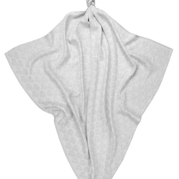 Bambusowa pieluszka/otulacz ze srebrem 75×75