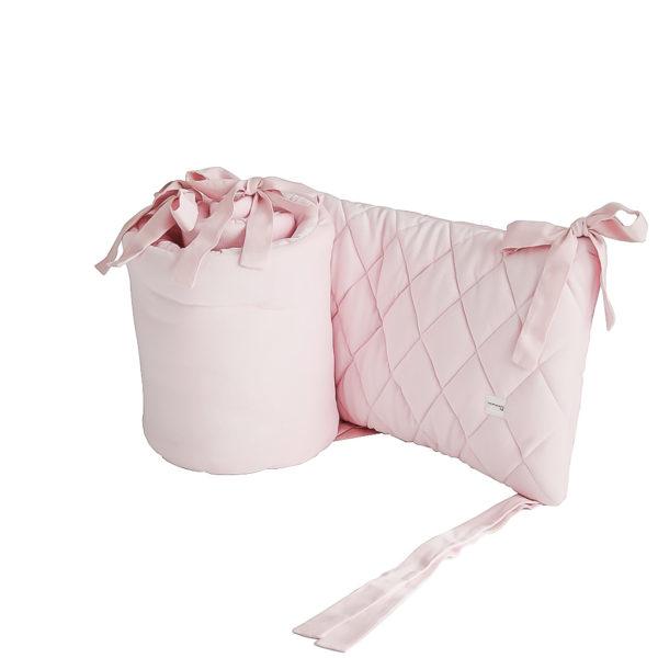 Ochraniacz Pikowany – Velvet różowy