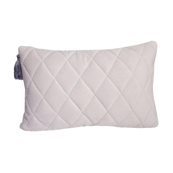 Poduszka pikowana Velvet z chwostem